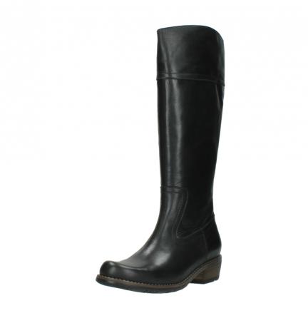 wolky lange laarzen 0553 tinto 300 zwart leer_22