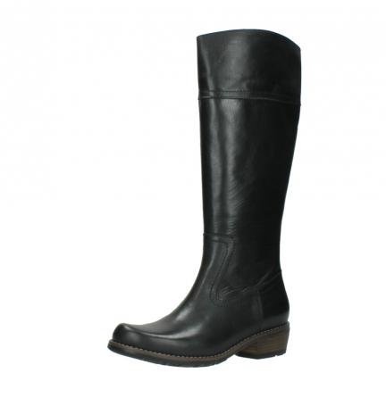 wolky lange laarzen 0553 tinto 300 zwart leer_23