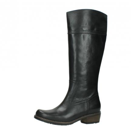 wolky lange laarzen 0553 tinto 300 zwart leer_24
