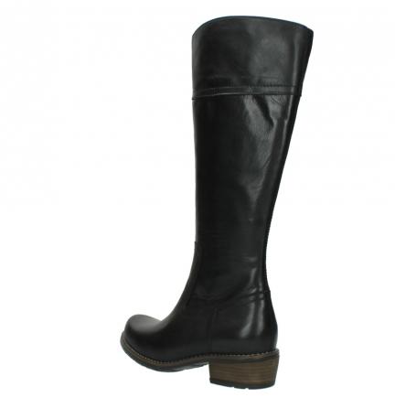 wolky lange laarzen 0553 tinto 300 zwart leer_4