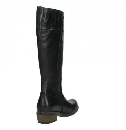 wolky lange laarzen 0553 tinto 300 zwart leer_9