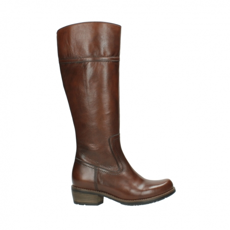 wolky hohe stiefel 0553 tinto 343 cognac leder