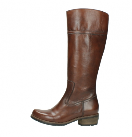 wolky hohe stiefel 0553 tinto 343 cognac leder_1