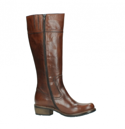 wolky hohe stiefel 0553 tinto 343 cognac leder_14
