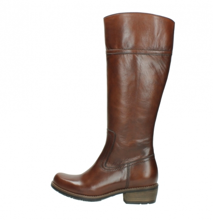 wolky hohe stiefel 0553 tinto 343 cognac leder_2