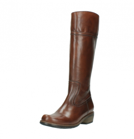 wolky hohe stiefel 0553 tinto 343 cognac leder_22