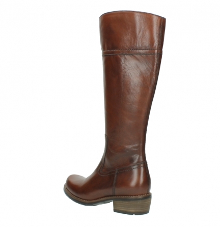wolky hohe stiefel 0553 tinto 343 cognac leder_4