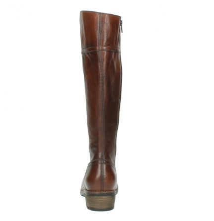 wolky hohe stiefel 0553 tinto 343 cognac leder_7