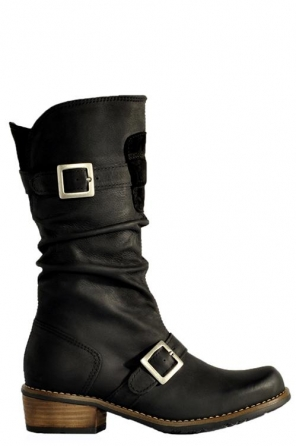 wolky lange laarzen 0554 vista 800 zwart ascot leer