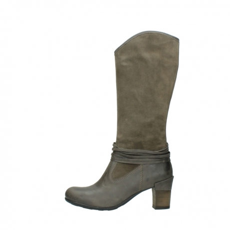 wolky long boots 07742 moss 40150 taupe suede_1
