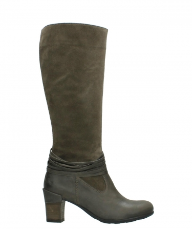 wolky high boots 07743 cruz 40150 taupe suede
