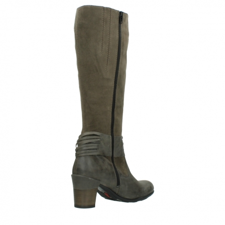 wolky long boots 07743 cruz 40150 taupe suede_10