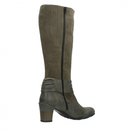 wolky long boots 07743 cruz 40150 taupe suede_11