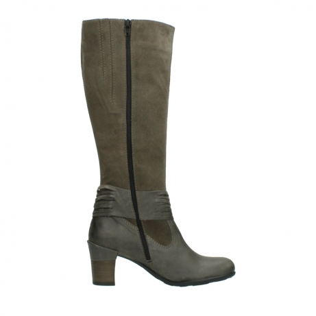 wolky long boots 07743 cruz 40150 taupe suede_13