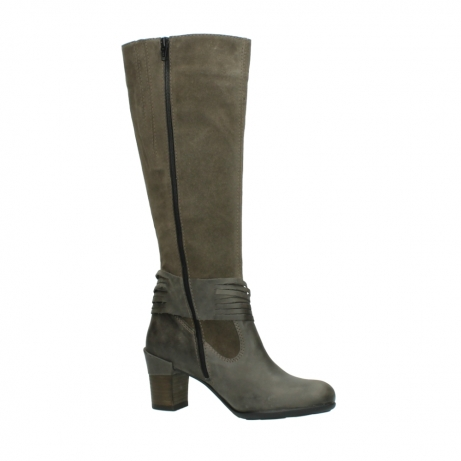 wolky long boots 07743 cruz 40150 taupe suede_15