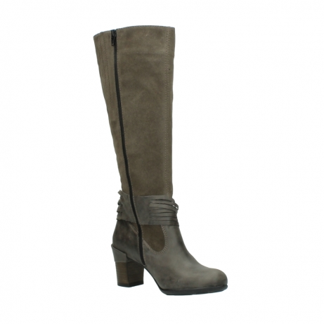 wolky long boots 07743 cruz 40150 taupe suede_16