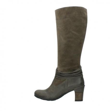 wolky long boots 07743 cruz 40150 taupe suede_2