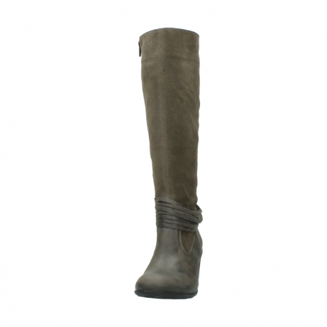 wolky long boots 07743 cruz 40150 taupe suede_20