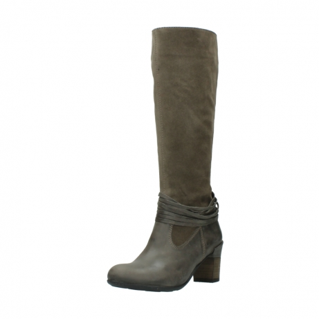 wolky long boots 07743 cruz 40150 taupe suede_22
