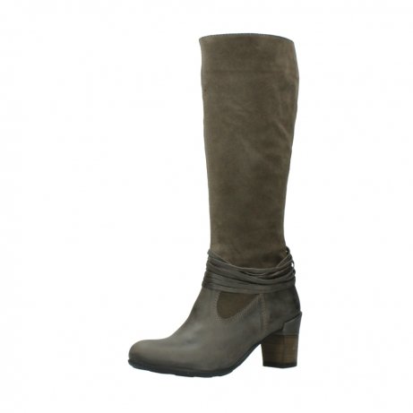 wolky long boots 07743 cruz 40150 taupe suede_23