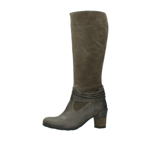 wolky long boots 07743 cruz 40150 taupe suede_24
