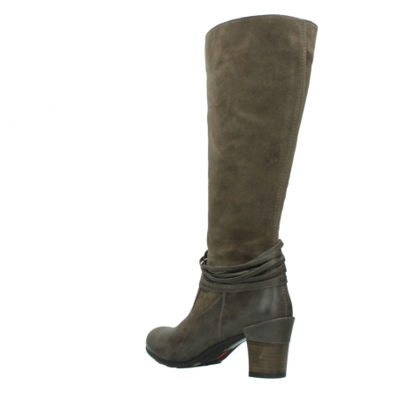 wolky long boots 07743 cruz 40150 taupe suede_4
