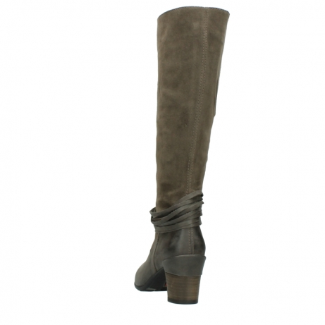 wolky long boots 07743 cruz 40150 taupe suede_6