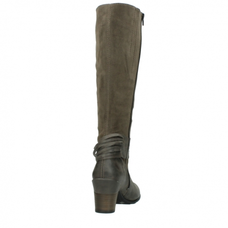 wolky long boots 07743 cruz 40150 taupe suede_8