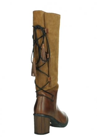 wolky high boots 08062 atasu 34430 cognac leather with suede_21