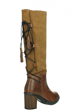 wolky high boots 08062 atasu 34430 cognac leather with suede_22