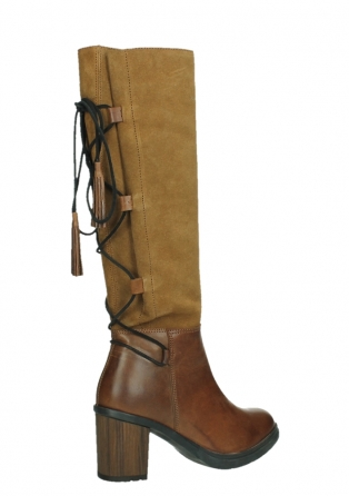 wolky high boots 08062 atasu 34430 cognac leather with suede_23
