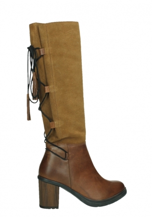 wolky high boots 08062 atasu 34430 cognac leather with suede_24
