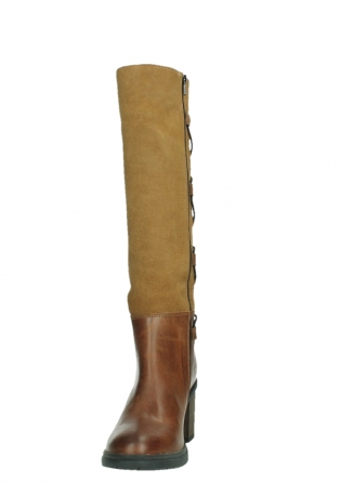 wolky high boots 08062 atasu 34430 cognac leather with suede_8