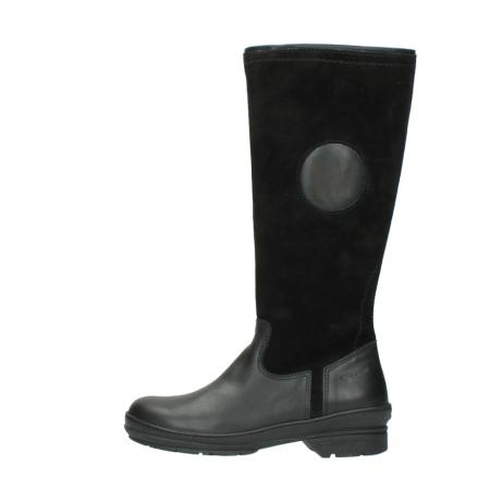 wolky hohe stiefel 7629 tanera wp 500 schwarz leder water proof warmfutter_1