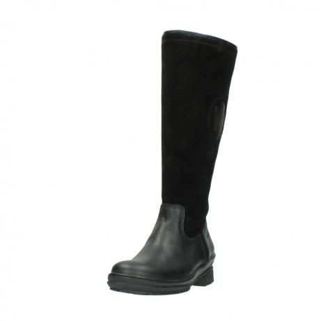 wolky hohe stiefel 7629 tanera wp 500 schwarz leder water proof warmfutter_21