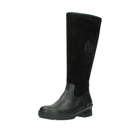 wolky hohe stiefel 7629 tanera wp 500 schwarz leder water proof warmfutter_22