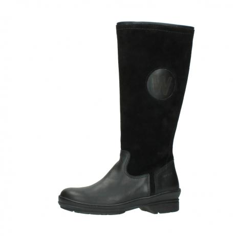 wolky hohe stiefel 7629 tanera wp 500 schwarz leder water proof warmfutter_24