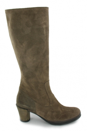 wolky lange laarzen 7852 music 415 taupe suede