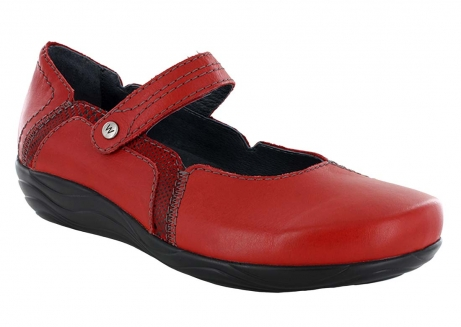 wolky mary janes u 01801 gila 50500 red leather