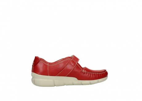 wolky mocassins 1500 yukon 757 rood zomer leer_12