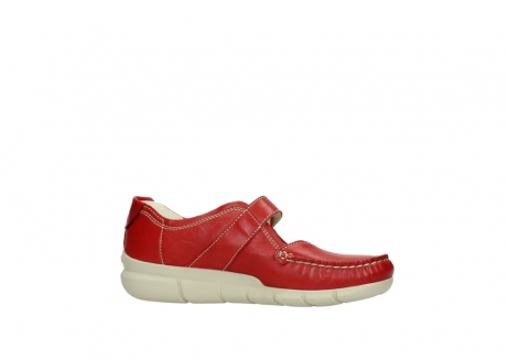 wolky mocassins 1500 yukon 757 rood zomer leer_14