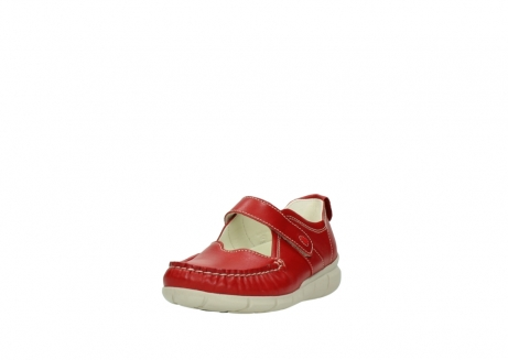 wolky mocassins 1500 yukon 757 rood zomer leer_21