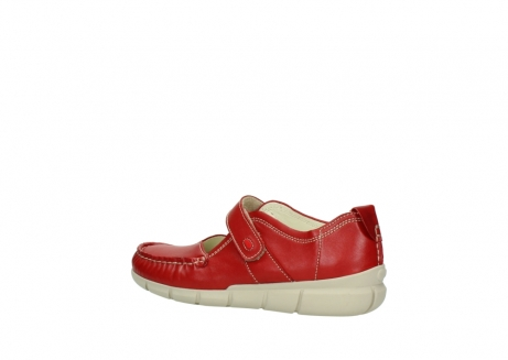 wolky mocassins 1500 yukon 757 rood zomer leer_3