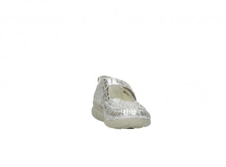 wolky mocassins 1500 yukon 962 girafprint metallic leer_18