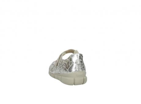 wolky mocassins 1500 yukon 962 girafprint metallic leer_6