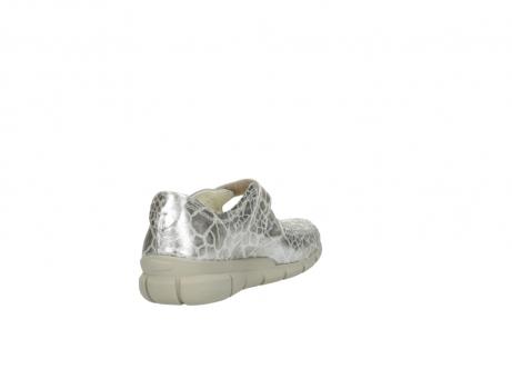 wolky mocassins 1500 yukon 962 girafprint metallic leer_9