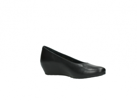 wolky court shoes 01910 capella 20000 black leather_15