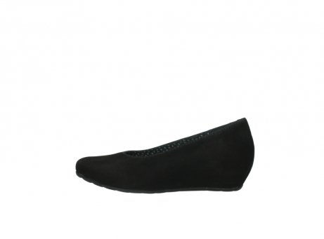 wolky court shoes 01910 capella 40000 black suede_1