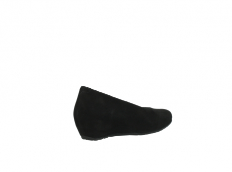 wolky court shoes 01910 capella 40000 black suede_10