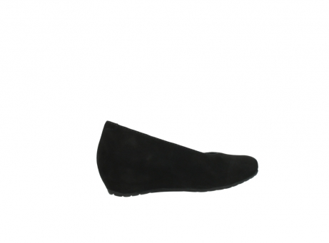 wolky court shoes 01910 capella 40000 black suede_11